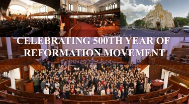 celebrating 500th year of reformation movement