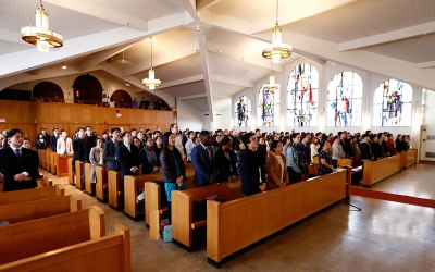 New York Retreat Concludes: Knowing the Lord's Love Through the Cross