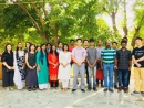 A family of 4 were baptised together: the parents and two adult children