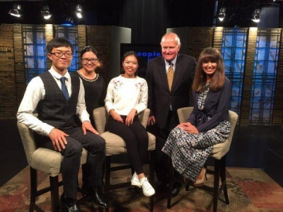 OU Faculty and Students on the Christian TV Channel